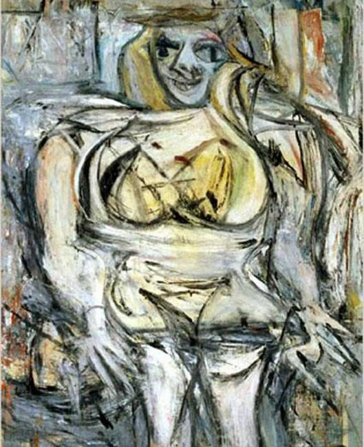Woman III. Willem de Kooning