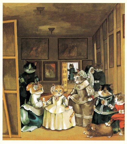 SUSAN HERBERT/CATS GALORE Las Meninas, de Velázquez