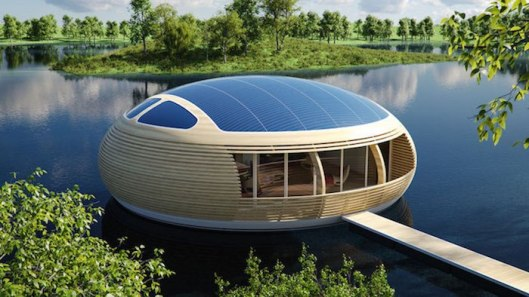Casa-flotante-con-energía-solar-fotos