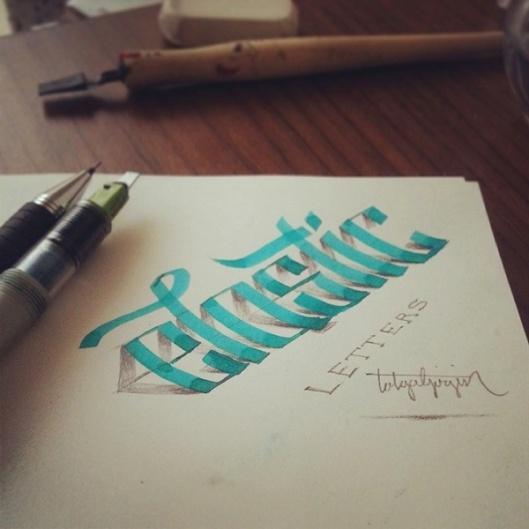 caligrafia-en-3D1