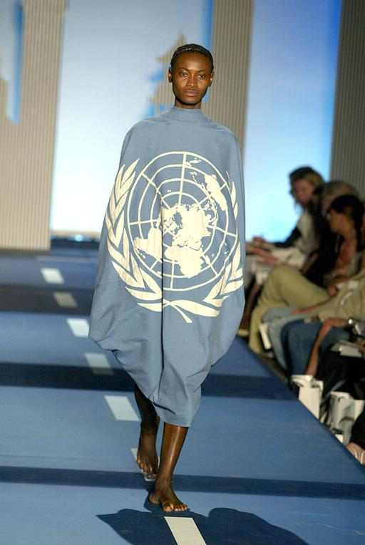 Mercedes-Benz Fashion Week Spring Collections 2003 - Miguel Adrover Show - Runway