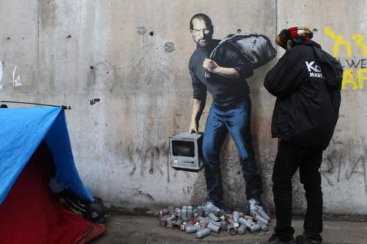 France Migrants Banksy