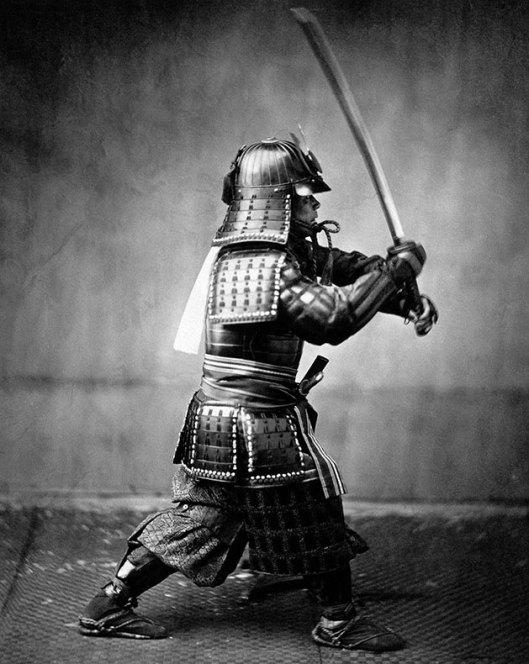 Raras fotos de colores de los últimos Samuráis japonés en el 1800 (10)