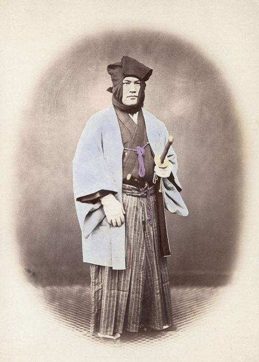Raras fotos de colores de los últimos Samuráis japonés en el 1800 (11)