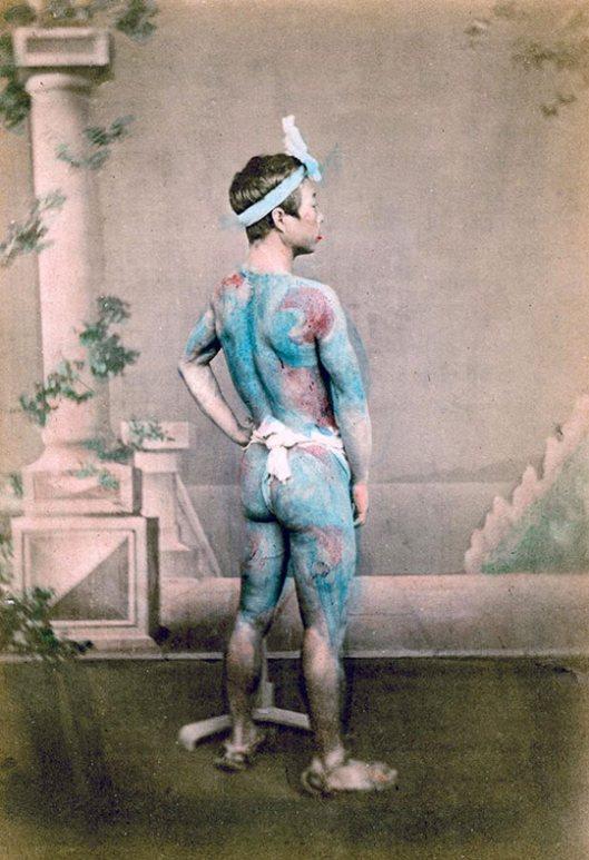 Raras fotos de colores de los últimos Samuráis japonés en el 1800 (13)
