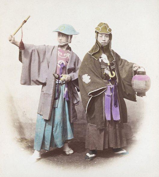 Raras fotos de colores de los últimos Samuráis japonés en el 1800 (17)