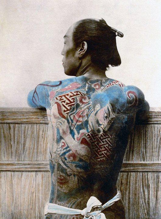 Raras fotos de colores de los últimos Samuráis japonés en el 1800 (3)