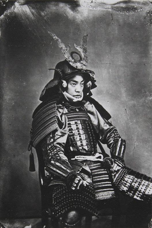Raras fotos de colores de los últimos Samuráis japonés en el 1800 (7)