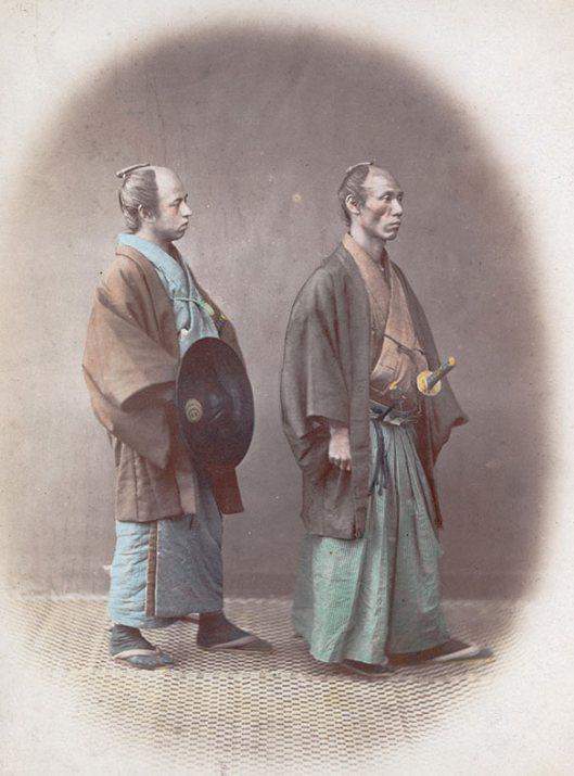 Raras fotos de colores de los últimos Samuráis japonés en el 1800 (8)