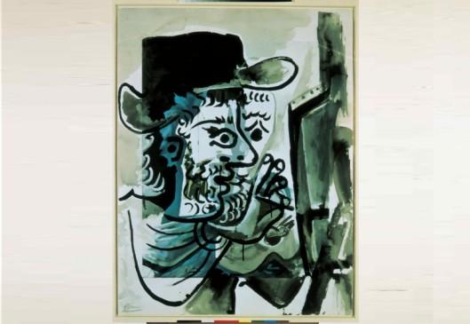 Le peintre au travail. Pablo Picasso, 1964. © Fundación Telefónica.