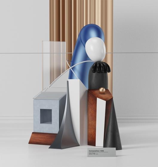 Artista-recreó-las-emblemáticas-obras-de-Piccasso-en-3D2