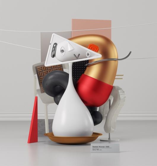 Artista-recreó-las-emblemáticas-obras-de-Piccasso-en-3D3