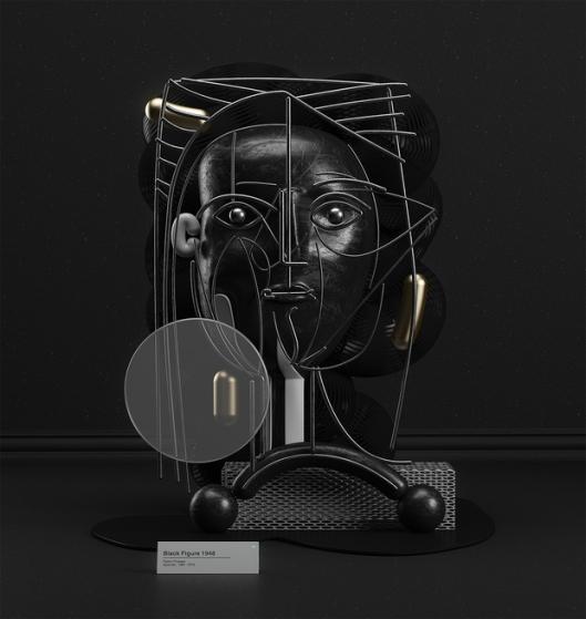 Artista-recreó-las-emblemáticas-obras-de-Piccasso-en-3D5